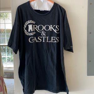 Black Mens Crooks & Castles shirt Size XL🖤